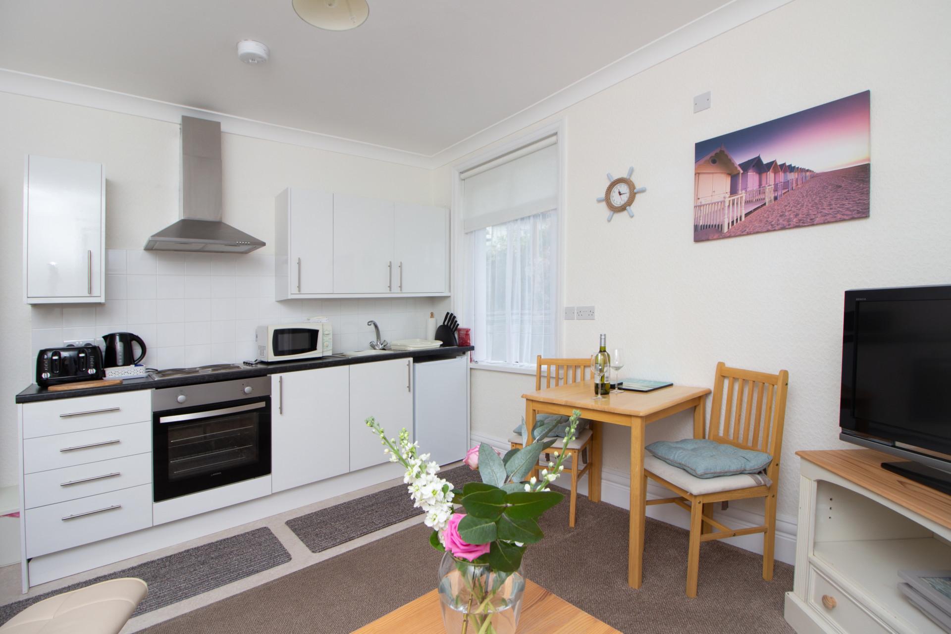 Kitchen in Apartment 1
