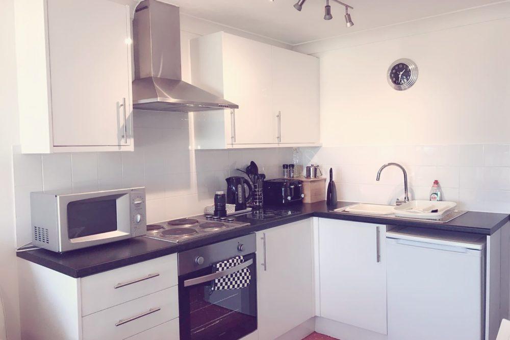 Apartment 3's Kitchen Area