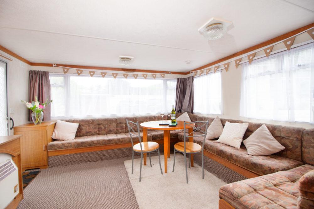 Lounge Diner of Caravan