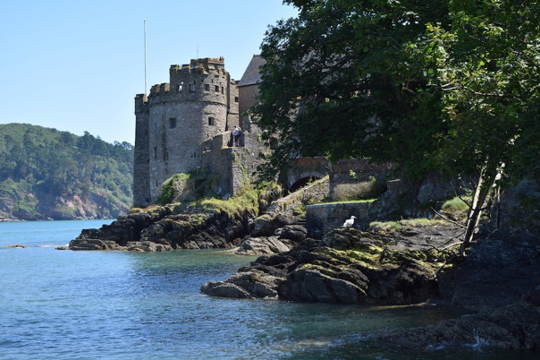 Dartmouth Castle in South Devon